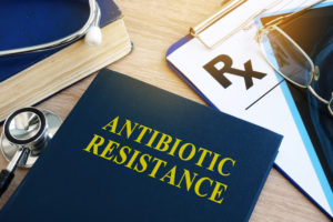 Antibiotic resistance, bacterial resistance, alcohol based disinfectants